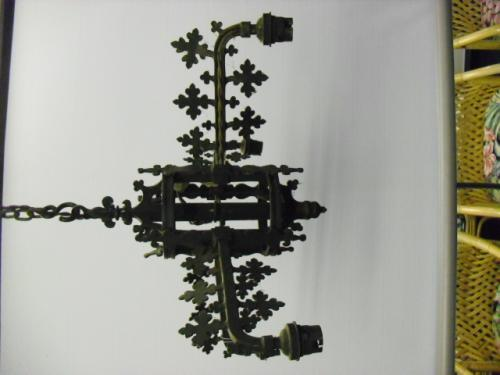Image of Lot  426  - A set of eight Gothic style hanging lights (a/f)