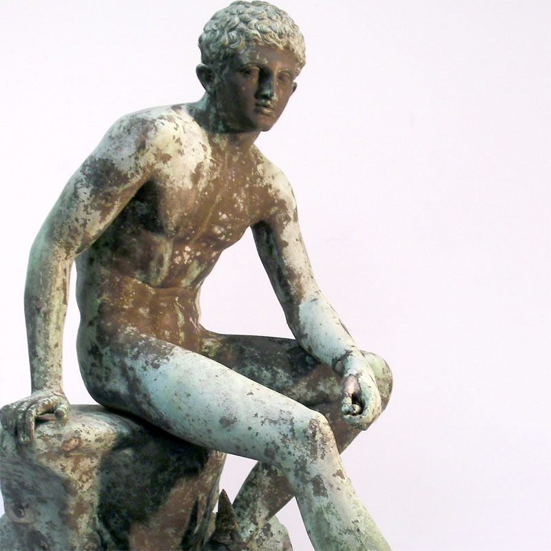 Image of Lot 281 - Mercury, bronze sculpture