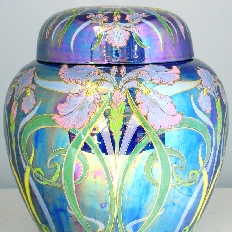 Image of Lot 244 - A Shelley Art Nouveau ginger jar